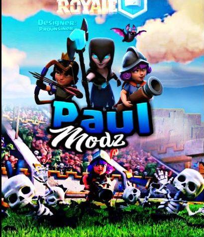 Приватный сервер Clash Royale - PaulModz