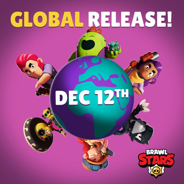Глобальный релиз Brawl Stars 12.12.2018 и новый броулер ЛЕОН