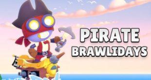 Nulls brawl пирацкое обновление BRAWL STARS. Бойцы Беа и Макс