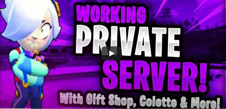 Скачать приватный сервер с бойцом Колетт